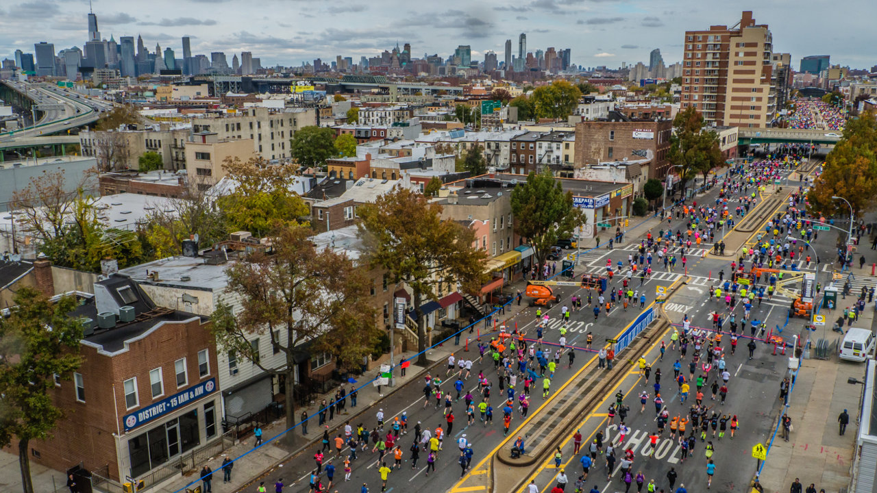 Timelapse New York Marathon 2013