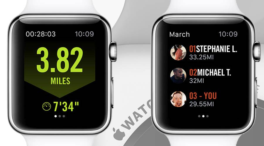 Nike+ Running op Apple Watch