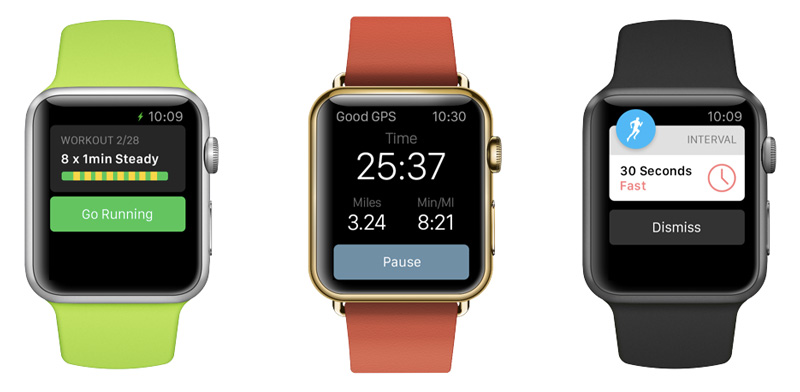 Runkeeper voor Apple Watch
