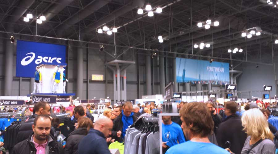 New York City marathon expo