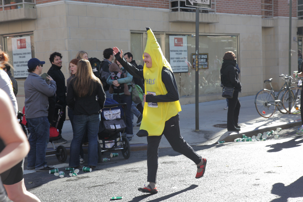 New York Marathon 2013 - Banana guy