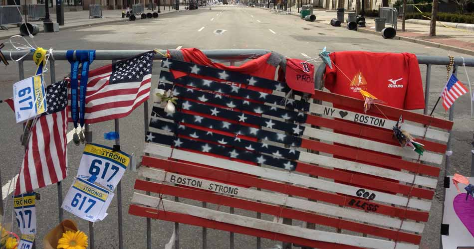 Boston Marathon: Boylston street