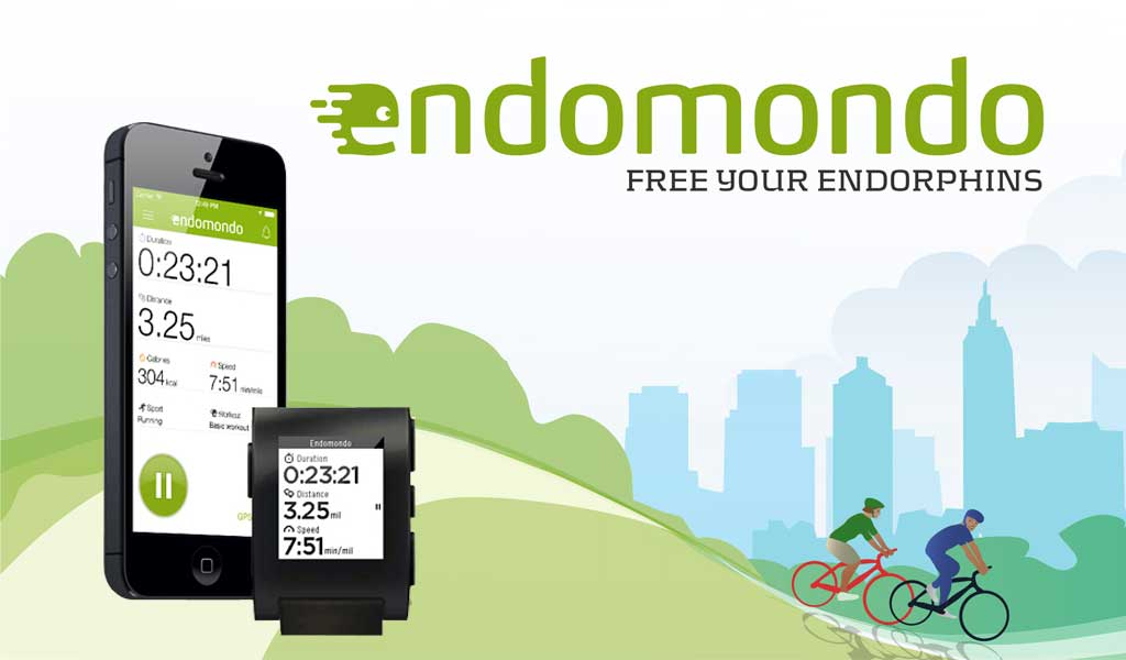 Endomondo Pebble App