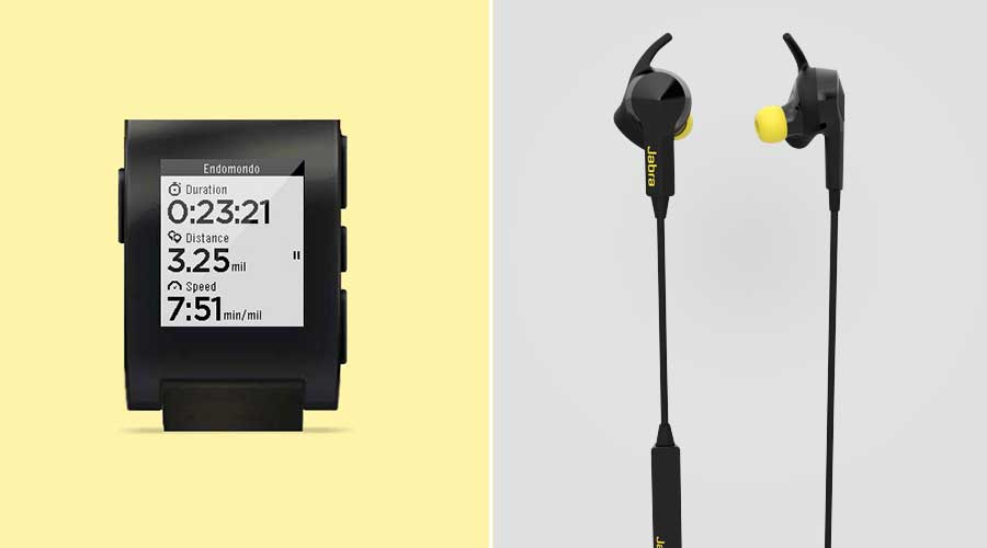Endomondo compatible voor Pebble en Jabra Pulse