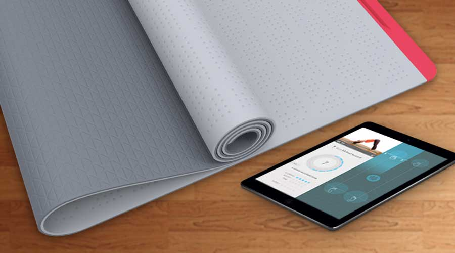 SmartMat, de connected yogamat