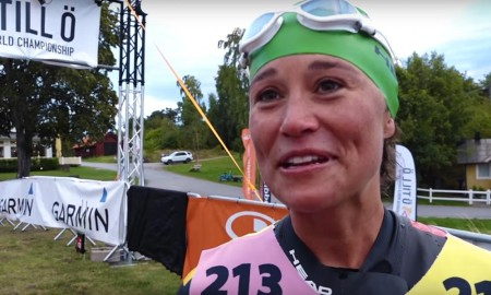 Pippa Middleton finisht 75 km Swim-Run wedstrijd in Zweden
