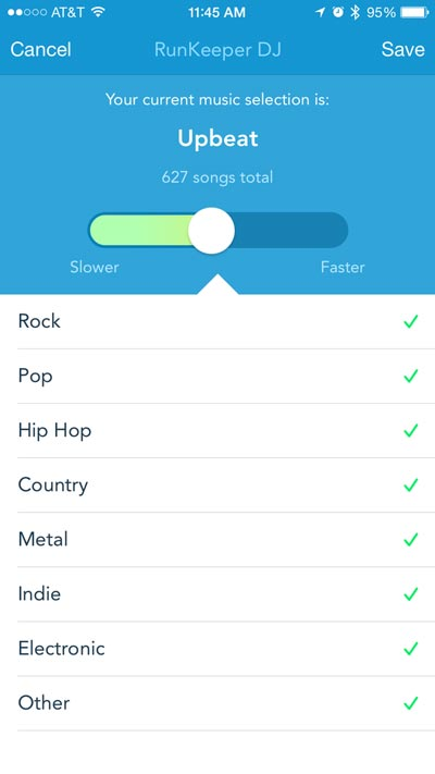 Runkeeper introduceert Runkeeper DJ
