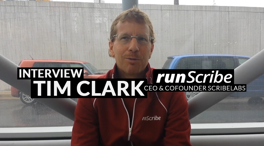 Interview Tim Clark, van RunScribe. Wearable voor hardlopers