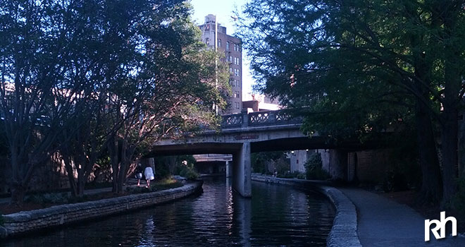 Running in Amerika; San Antonio - Downtown Reach.