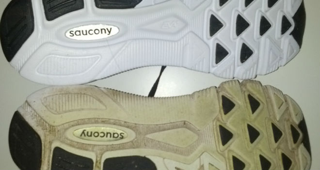 Saucony Kinvara 3 - New vs. old, na 1000K