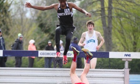 Epische steeplechase fail