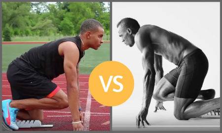 Sprinters in commercials: Usain Bolt vs. Andre de Grasse